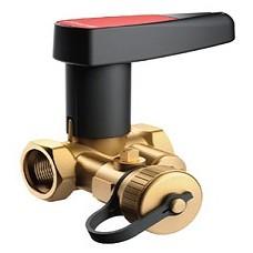 Запорный клапан Ballorex Basic с дренажем